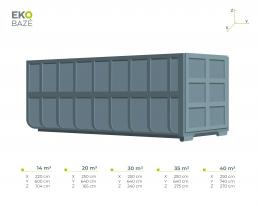 Metalinis konteineris didesnis-full